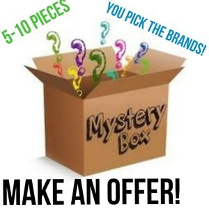 CLOTHING MYSTERY BOX Your choice! SEND OFFERS!